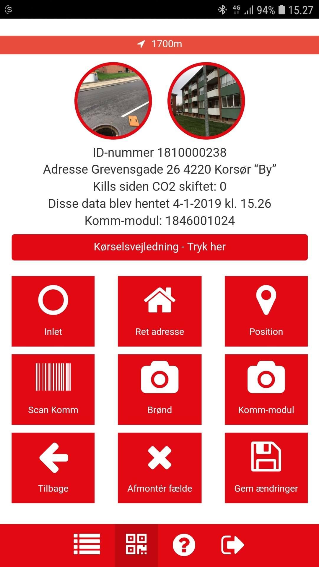 app til bestilling af mekaniske rottefælgder fra ratel