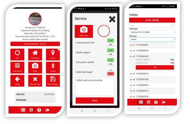 ratelcom app er en hurtig og nem måde at se data på - ratel